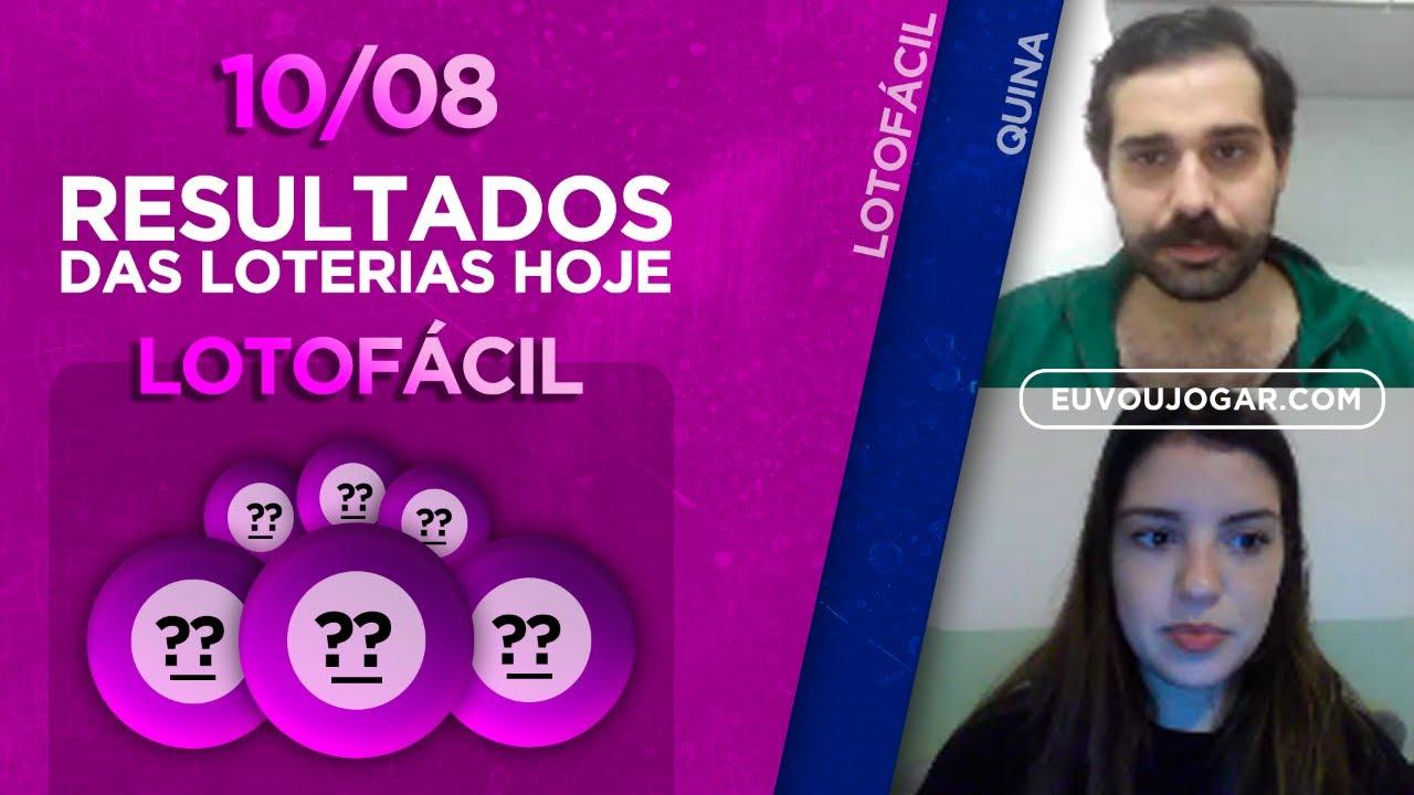 🔴 LIVE: RESULTADO DA LOTOFÁCIL 2007 | QUINA 5336 - 10/08