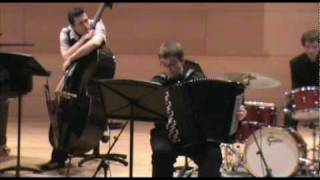 Download BachJazz Quartet - SYMPHONY 9 IN F MINOR BWV 795 part1 MP3 song and Music Video