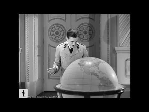 Charlie Chaplin - Complete Globe Scene - The Great Dictator