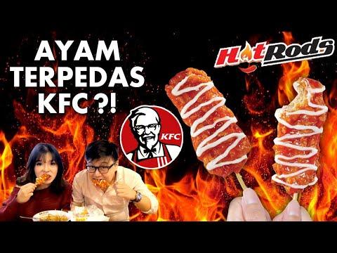 AYAM KFC PALING PEDAS !! REVIEW JUJUR KFC HOT RODS!!