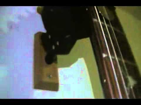 hercules gsp38wb wall hanger for guitar youtube. Black Bedroom Furniture Sets. Home Design Ideas
