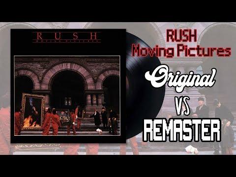 RUSH - Moving Pictures. Original vs Remaster Vinyl Audio. Is the remaster worth it?