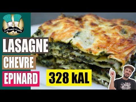 [facile]-🍗recette-de-lasagnes-chÈvre-Épinards