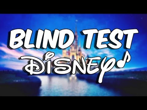 BLIND TEST DISNEY!! (40 TITRES)