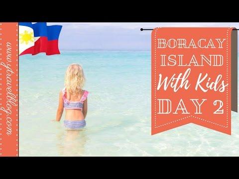 Boracay Island Philippines With Kids | Puka Beach and White Sand Beach