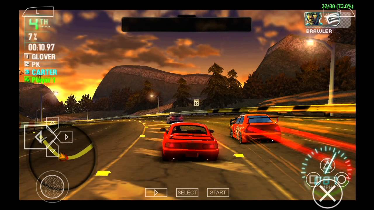 Ppsspp Emulator 0 9 8 For Android Need For Speed Carbon Own The