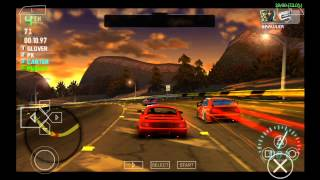 PPSSPP Emulator 0.9.8 for Android | Need for Speed Carbon: Own the City [720p HD] | Sony PSP