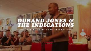 Durand Jones & The Indications - What's Going On - Live at Plaid Room Records