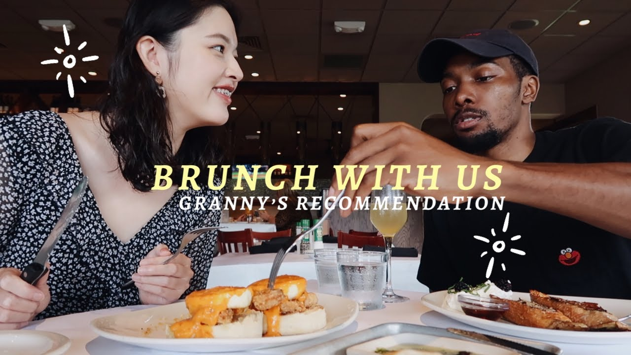 A brunch day with us (recommended by Grandma)|Blasian Couple|sometimes with Keys