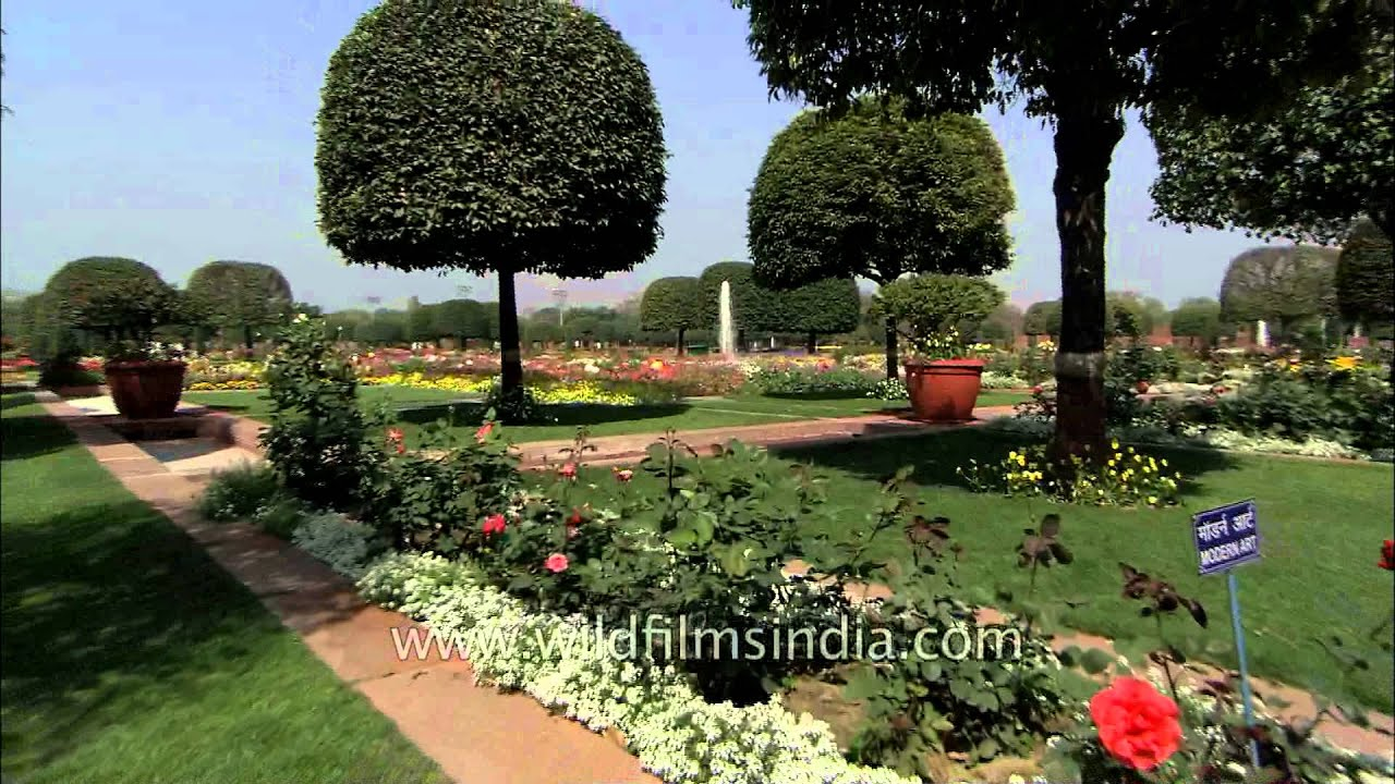 Mughal Garden One Of The Most Beautiful Gardens In India Youtube