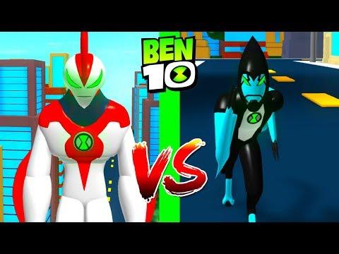 Ben 10 Way Big VS Xlr8 - Roblox Ben 10 Arrival of Aliens