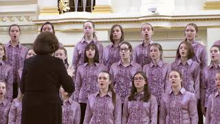 Выступление хора музыкальной школы им. В. В. Андреева. 22 апреля 2018 года