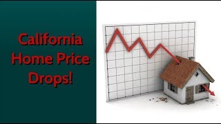 California Home Prices are Crashing! Up to 25% Price Drop!