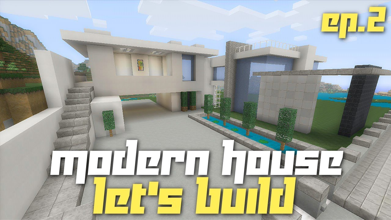 Minecraft Xbox 360 Lets Build a Modern House City Texture Pack