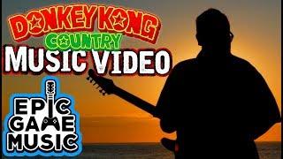 Stickerbrush Symphony (Bramble Blast) Donkey Kong Country 2 Music Video || Epic Game Music