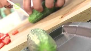 Салат из картофеля с креветками на сайте e-da.tv