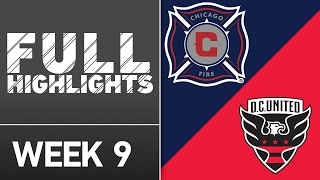 HIGHLIGHTS: Chicago Fire vs. D.C. United | April 30, 2016