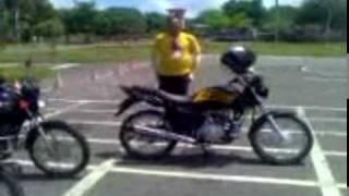 Repeat youtube video Exame de Moto no Detran em Fortaleza Ceará