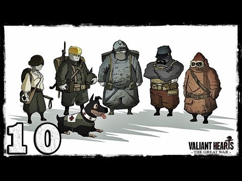 Смотреть прохождение игры [PS4] Valiant Hearts: The Great War. #10: Деревянные кресты. [ФИНАЛ]