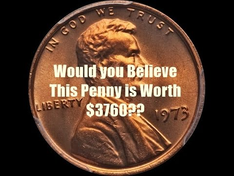 IMPOSSIBLE! How Can This Plentiful 1973 Lincoln Penny Sell for $3760?  Search Your Piggy Banks!!