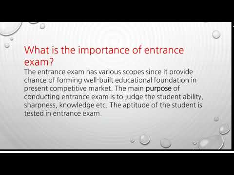 Impact of entrance Tests and public Examination on teaching and learning