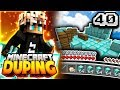 DUPING TONS OF DIAMOND BLOCKS ON A SKYBLOCK SERVER | Minecraft DUPING Series #40