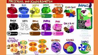 Free Preschool & Kindergarten Learning activities!