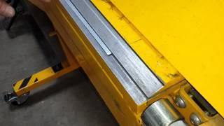 Сибгиб. Видео отзыв листогиб Metal Master LBM(Компания ООО