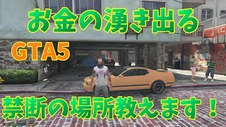 【GTA5】オフラインで永遠にお金が湧く場所知ってますか?