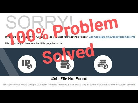 How to fix cpanel cgi sys redirect 404 File not found|sorry contact your service provider
