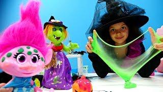 Игрушки Тролли - Развивающие игры для девочек