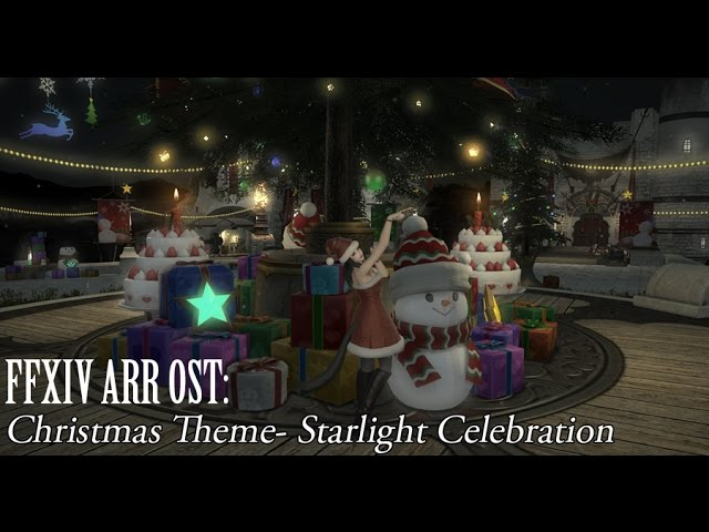 Ffxiv When Is Christmas 2021 Ffxiv Ost Christmas Event Theme Starlight Celebration Youtube