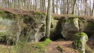 Müllerthal ~ Berdorf - caverne Hohllay (Luxembourg)