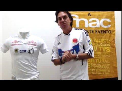fdd0c0381768c Santos Kappa 2016 - Vestiário - Iuri Godinho - YouTube