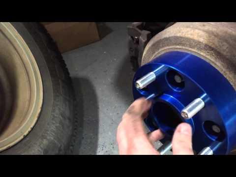 Spidertrax wheel spacer install Jeep Wrangler