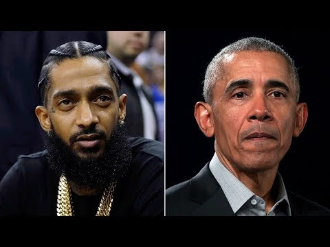 Letter from Barack Obama read at Nipsey Hussle's memorial I ABC7