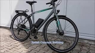 Kalkhoff Durban g8 Elektro Fahrrad Urban eBike 2017