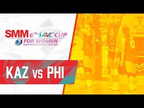AVC Cup: Philippines vs. Kazakhstan (Replay) - September 22, 2018