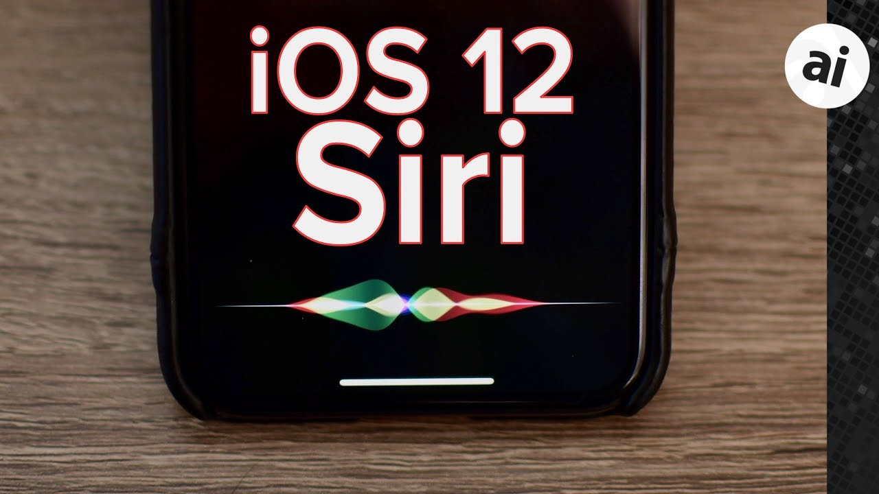 Everything New with Siri in iOS 12
