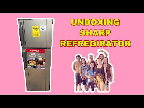 UNBOXING SHARP REFREGIRATOR