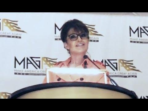 Sarah Palin shines in D.C. for Trump MAGA Coalition • Full Video • 5/10/18