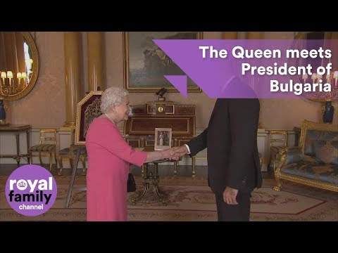 The Queen receives
