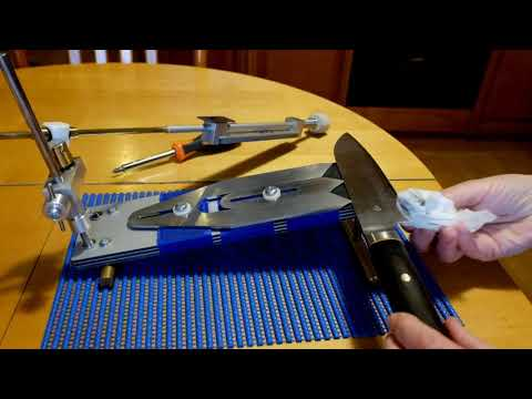 Как грамотно наточить хороший кухонный нож