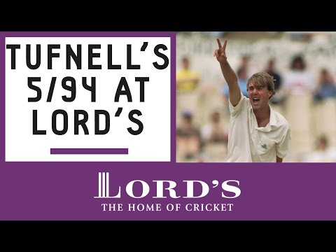 Phil Tufnell on his Lord's 5-wicket haul | Honours Board Legends