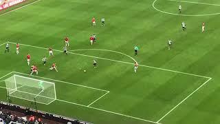 Newcastle 1 Man United 0 Matt Ritchies goal