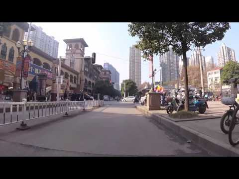 Wuhan from a Scooter - nanhu - south-central university of nationalities - with audio