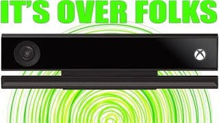 WAIT...PEOPLE STILL CARE ABOUT THE KINECT?!?!?! LOL!