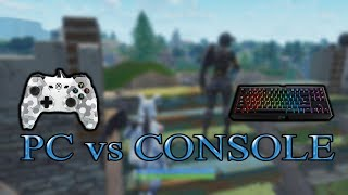 PC💻 vs CONSOLE🎮 | GRIMREAPER_YT vs Rivers913 (Fortnite 1v1 without building) [Who will win?]
