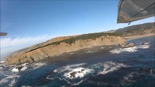 California Coastal Flight Little River to Gualala