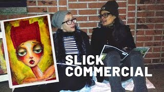 Homemade Commercial for Mixed Media Art Tutorial -- Funny! (I think)